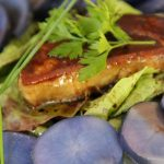 escalope de foie gras pommes de terre vitelottes