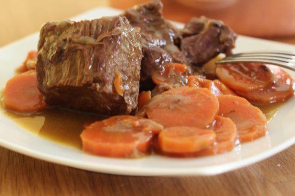 Bœuf aux carottes à la normande