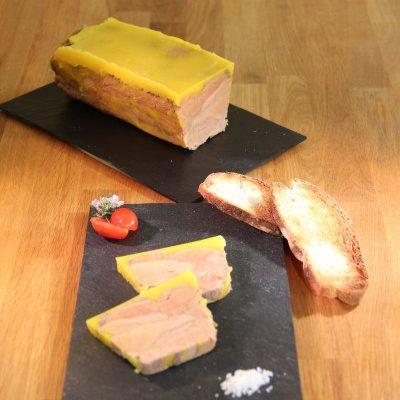 Foie gras en terrine façon Pierre Yves