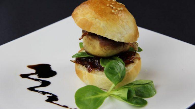 hamburger foie gras