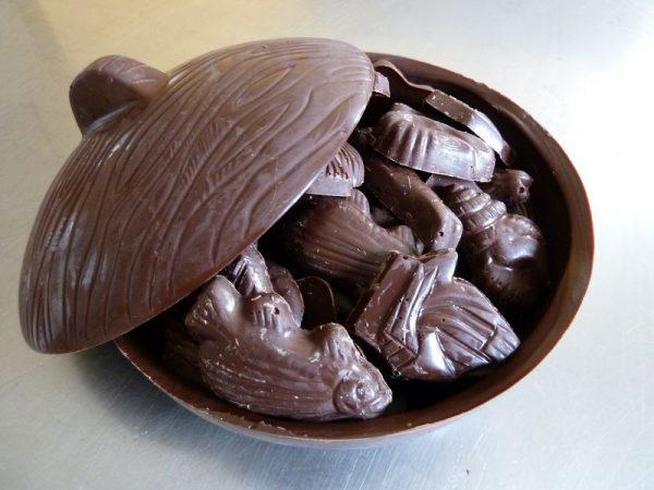 Chocolat, moulage de friture