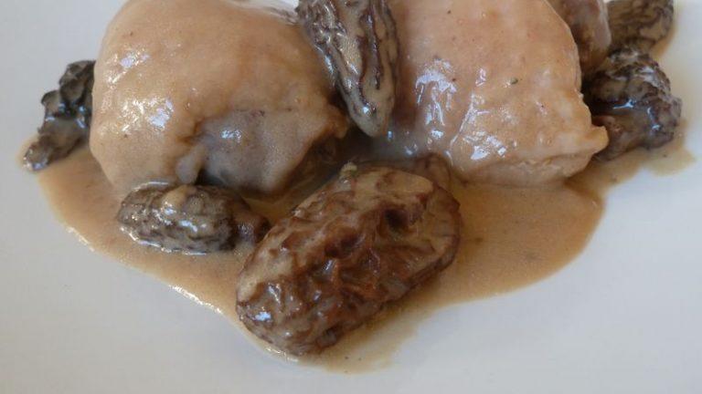 poulet aux morilles