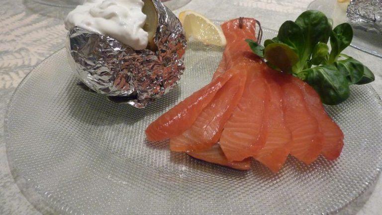 saumon fumé ficelle