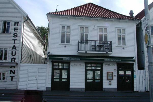 Restaurant Sorensen à Stavenger – Norvège