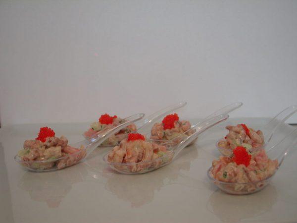 Cuillère de crevettes