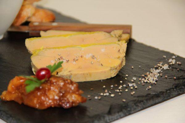 Terrine de foie gras au micro-ondes