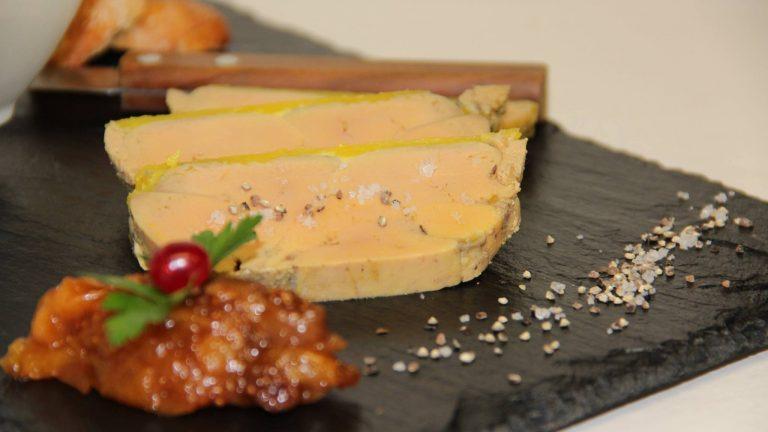 foie gras chutney de figues