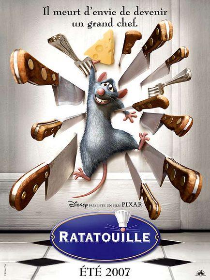 La ratatouille …. recette ou film ?