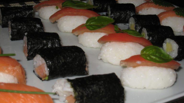 sushi et makis