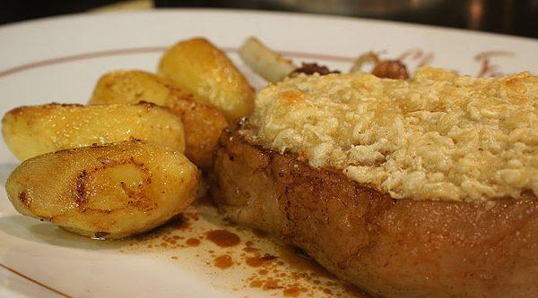 Côte de porc Saint Vincent