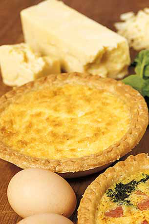Quiche à la Fourme d'Ambert