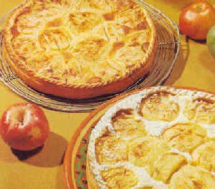 La tarte à l'alsacienne