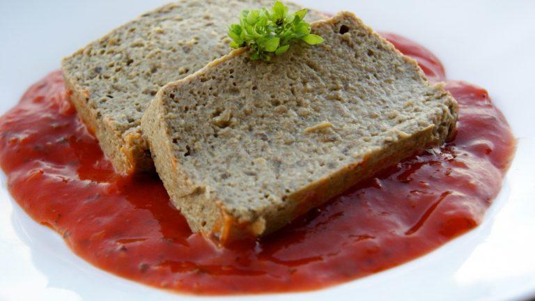 terrine aubergine coulis de tomates