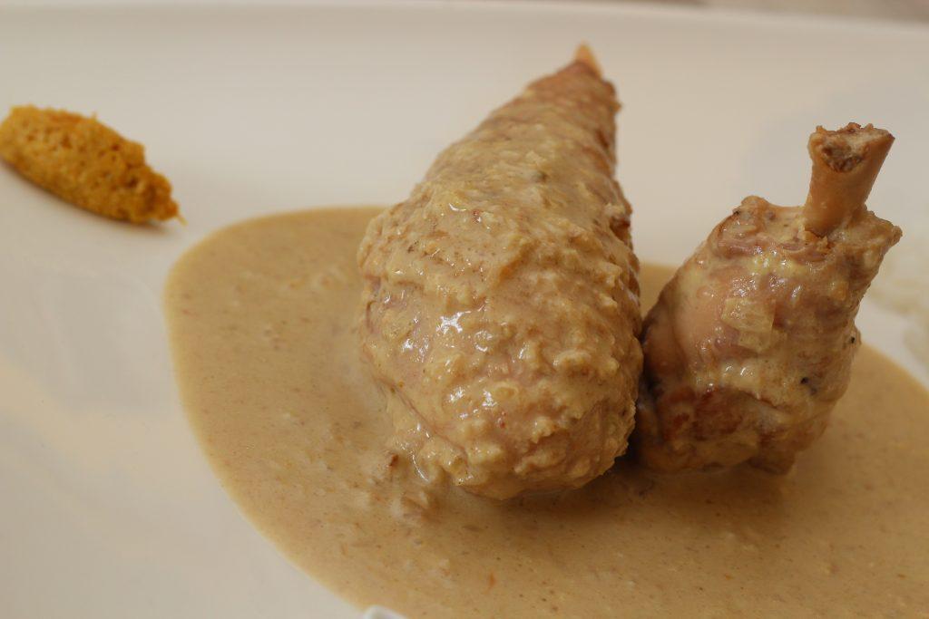 Poulet au curry vert – Cuisson basse température