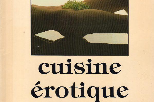 Cuisine érotique – Le livre