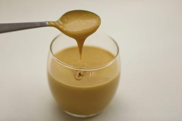Caramel de lait sous vide à basse température