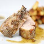 Poitrine de porc basse température au chimichurri