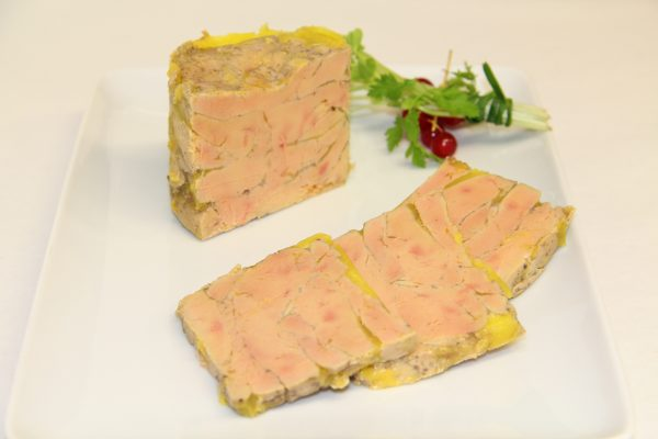 Foie gras en bocal