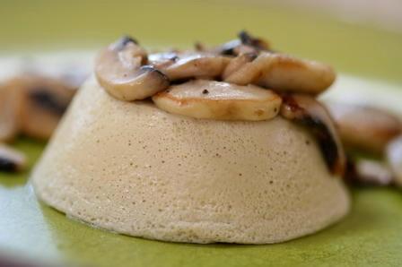 royale de foie gras aux cèpes