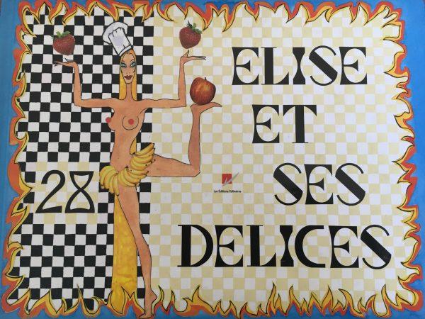Elise et ses 28 délices – Le livre