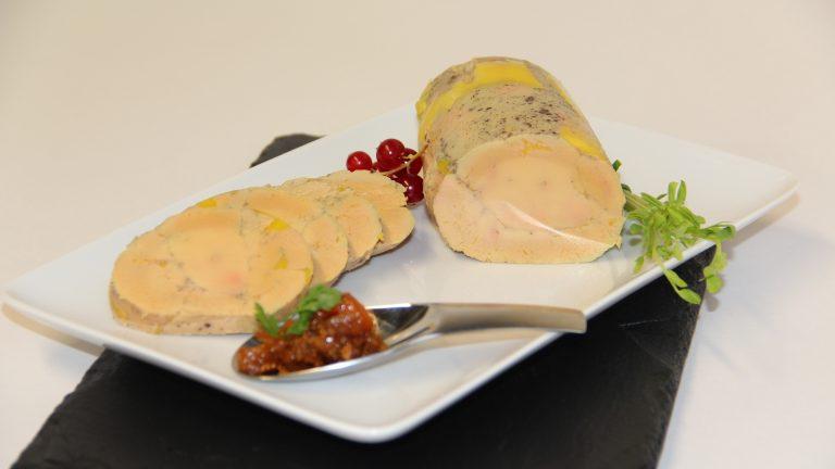 Foie gras chutney de figue