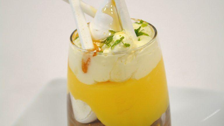 tarte citron déstructurée