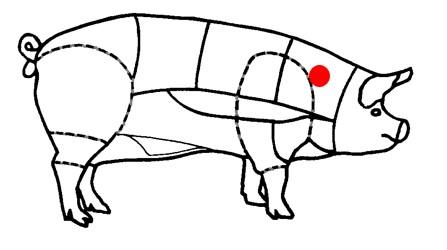 Échine de porc