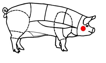 Noix de joue de porc