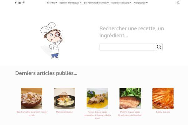Cuisine-passion.net : un nouveau look !